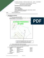 INFORME TÉCNICO 0148- CONSTANCIA DE POSESIÓN- A.H.SAN FRANCISCO DE ASIS MZ. I' LOTE N°1
