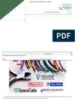 Tipos de Cables Eléctricos Uso, Medidas, Colores y Aislamientos