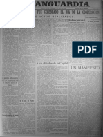 La Vanguardia  03 de julio de 1927