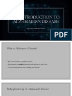Introduction to Alzheimer's Disease