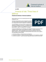 Governance of risk_ Three lines of defence