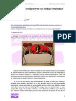Las nuevas servidumbres y el     trabajo intelectual (C. Formenti)