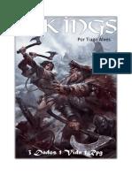 3 Dados 1 Vida 1 RPG - Vikings