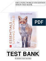 Essentials Living World 6th Johnson Test Bank