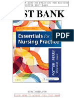 Essentials Nursing Practice 9th Potter Test Bank