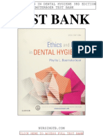Ethics Law Dental Hygiene 3rd Beemsterboer Test Bank