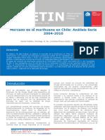 Boletin 1 Mercado de la marihuana en Chile Análisis Serie 2004-2010