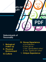 Report No. 1 DETERMINANTS OF PERSONALITY.pptx