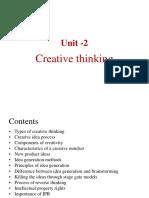 creative thinking Unit -2 IDT (1).pptx