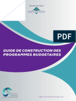 Guide Construction Programmes Budgetaires