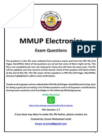 MMUP Electronics V1.7 - With Answers