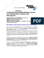 Bosnia and Herzegovina - An example of a Community-based Rehabilitation System.doc