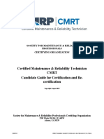 CMRT Candidate Guide for Certification and Recertification 08.16.19