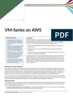 Vm Series on Aws Specsheet