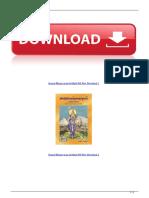Srimad Bhagavatam in Hindi PDF Free Download 1