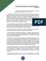 Notes sur la Société professionnelle des auteurs et compositeurs du Québec