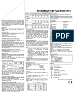 RF- rheumatoid factor