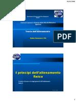 Principi Dell'Allenamento 2