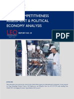USAOD Serbia Competitiveness and Political Economy Analysis