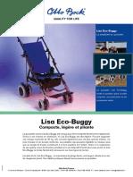Brochure Poussette Eco Buggy