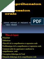 comprehension et expression orale
