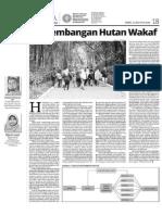 Model Pengembangan Hutan Wakaf