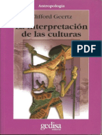 la interpretacion de las cultur - clifford geertz.pdf