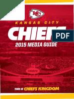 2015 Chiefs Media Guide