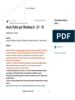 Avvio Pulito Per Windows 8 - 8.1 - 10 - Microsoft Community
