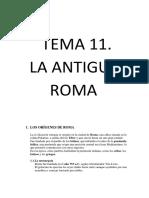 Tema 11 Roma