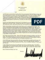 2019-12-20 Trump Letter to Federal Employees