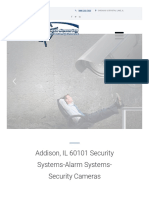Security Cameras and Alarm Systems Installation in Chicago