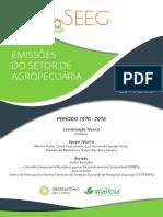 relatorios-emissões setor agropecuário 2018