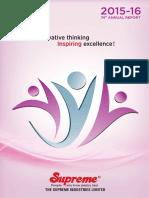 Supreme Annual Report 15 16