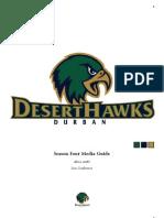 Durban DesertHawks Season Four Media Guide