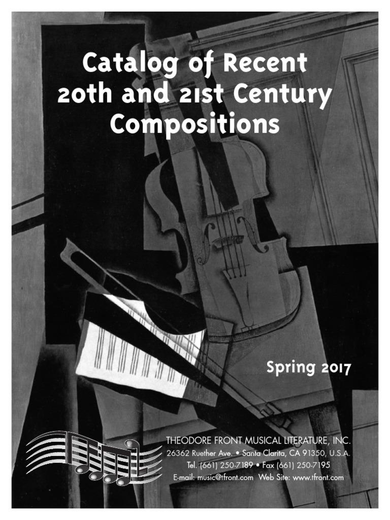 Song of the Phoenix for solo Violin Theodore Presser Company Lauren Bernofsky