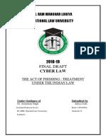 Cyber Law FD