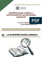 (PPT) Gloria Noriega Monar - Interpretacion juridica y justificacion de las decisiones judiciales