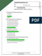 BANCO DE PREGUNTAS DE NEUROANATOMIA