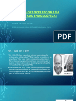 CPRE (colangiopancreatografía retrógrada endoscópica)