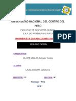 SEGUNDO PARCIAL DE INGENIERIA DE LAS REACCIONES QUIMICAS DOS.docx