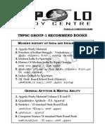 Tnpsc Group 1 Book List