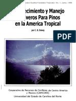Establecimiento y manejo de viveros para pinos