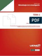 Unidad didáctica 1- METODOLOGÍA DE LA INVESTIGACIÓN