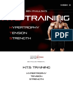 Ben Pakulski's HTS Training - Week 3
