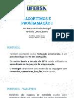 Aula 02 - Variáveis, Leitura, Escrita Portugol.pdf