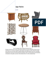 Style Type of Furniture