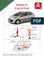 Fisa descarcerare Citroën C1