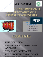 Zero Sequence Impedance