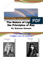 The nature of light wave
